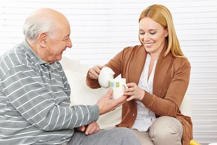 Hilfe bei Senioren